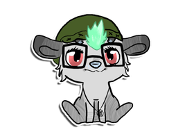 Kaela-Ra Sticker Commission by Pink-Doodlr