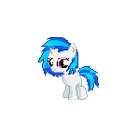 Filly Vinyl Scratch for Ponymon Anarchy by strawbellycake