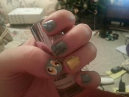 Derpy Hooves Nails by SoupInsanity