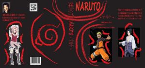 Naruto Book Cover Finished by 2great4u