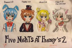 Five Nights At Freddy's 2 [Human Version] by Jany-chan17