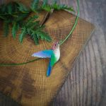 hummingbird 010 necklace by szaranagayama