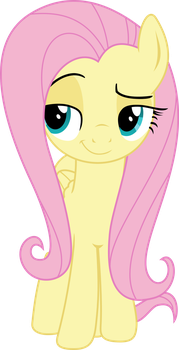 Fluttershy - Vector by Darknisfan1995