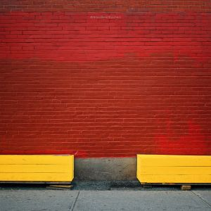 almost an equilibrium in yellow and red by BlauBeerKuchen