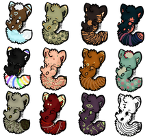 5 Point Kitten Adopts (3/12 OPEN) by BunBun-Adopts