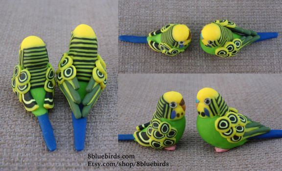 Budgie Wing Style by The-Wandering-Bird