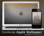 Corduroy Apple Logo Wallpapers by syy101023