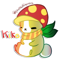 ::Kiko(chibi Commish):: by PrePAWSterous