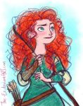 Merida Colour Sketch by The-Ez