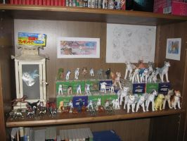 Ginga figures and papercrafts by methpring