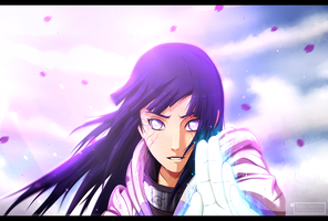 Naruto 437 - Hinata [Because I love you] version 2 by Kortrex