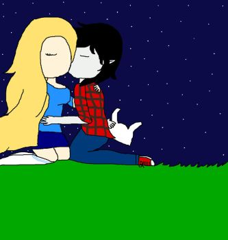 Fionna y Marshall forever ^^ *o* by Claudiita18
