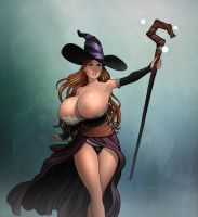 Sorceress by rplatt