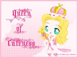 .:Queen of Cuteness:. by PhantomCarnival