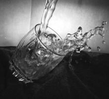 Pouring water by LorreesWorld