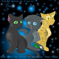 Hollypaw, Jaypaw and Lionpaw by WarriorsAngelCat