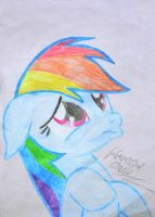 Cute Rainbow Dash by MichauDotCom