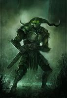 Swamp Warrior by JohnoftheNorth