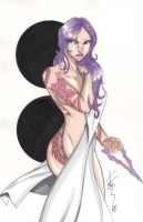 Psylocke June 11 by Hodges-Art