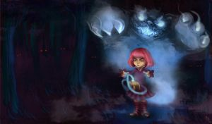 League of Legends: Annie Ghost by mechus