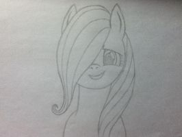 fluttershy wip by midnightfox1