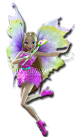 Klub Winx 6 - Mythix Flora PNG #1 by PVTeam by PVTeam