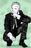 Zoro The Black and White by Chichicken