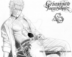 BLEACH: Grimmjow -fanservice- by blackstorm