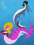 Commission: More Aquatic Variations 03 by SepiSnake