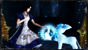 Alice and Glaceon by jagged66