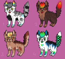 [OPEN] Point Adoptables #6 (Name Your Price) by Cherry-Adopts
