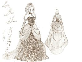 Kamen: Lolita Ball Gown Design by Kim-Ai1