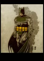The Dark Knight(Frank Miller version) by Gay-san