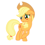 Applejack - Blush by Ocarina0fTimelord