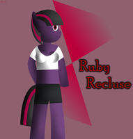 Ruby Recluse (Anthro) by PoniesWithCarsRule