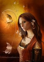 Butterfly by ThelemaDreamsArt