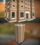 Apartment building by N647