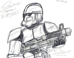 Clone Trooper Ep.III by Snowbacon