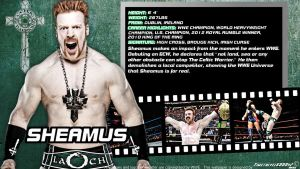 WWE Sheamus ID Wallpaper Widescreen by Timetravel6000v2