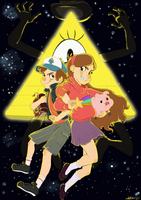 Gravity Falls by Lea007