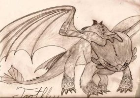 Toothless pose by Night-Fury777