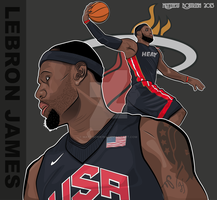 Vector - Lebron James by MattBowring