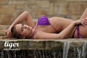 Purple Bikini by tigerphotography