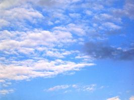 cloudy sky by dest-stock