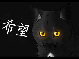 Ravenpaw - Warrior Cats - FA by WavesOfWealth