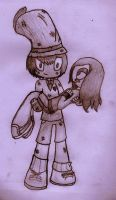 Chimbley x Anay by SalemTheCat23