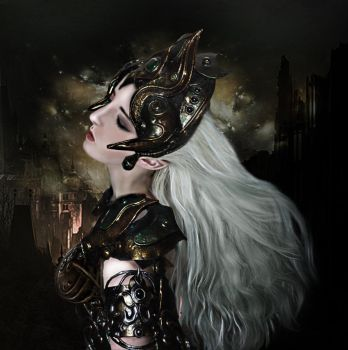 The Warrior by Miss-deviantE