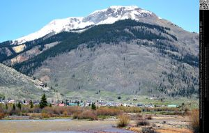 Mountain and Town of Silverton by DamselStock