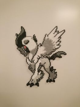 Pokemon #46 - Mega Absol by MagicPearls