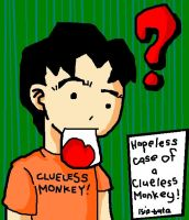 clueless monkey in ms paint by isip-bata